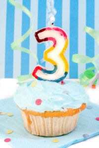 The NInja's 3rd Year Blogging Birthday!