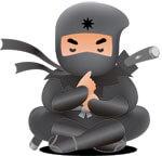 Sitting Ninja