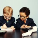 Tax kids calculating RRSP and TFSA contributions!