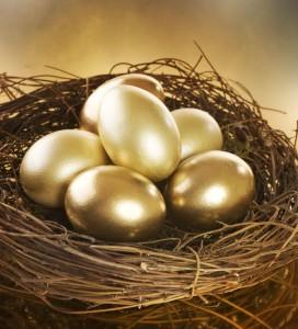 The TFSA Goldend Nest Eggs